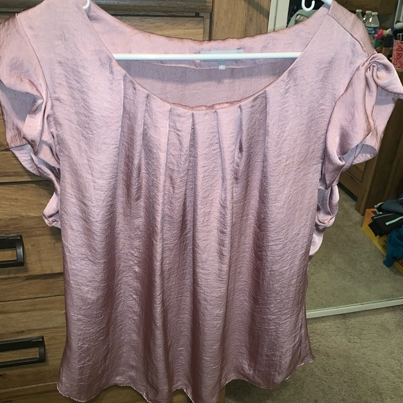 Violet & Claire Tops - Silky Blouse (Lilac)